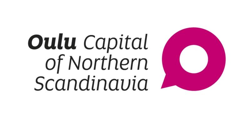 Oulu - Capital of Northern Scandinavia -logo.